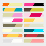 Colorful masking tape vector Royalty Free Stock Photo