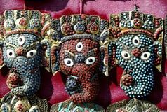 Colorful Masks in Kathmandu,Nepal Stock Photos