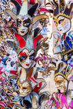 Colorful masks of Venetian Carnival. Picture of colorful masks of Venetian Carnival royalty free stock photography