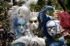 Colorful masks of Venice Royalty Free Stock Images