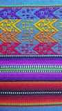 Colorful material from South America Royalty Free Stock Photo