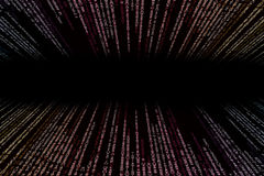 Colorful matrix  background computer generated Stock Photos