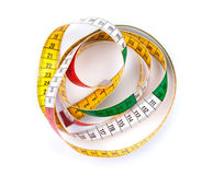 Colorful measure tape Royalty Free Stock Photos