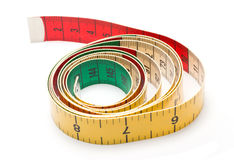Colorful Measurement Tape Royalty Free Stock Photo