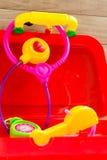 Medical Set Toy Royalty Free Stock Photos