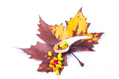 Colorful medicine Stock Images