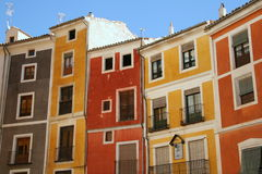 Colorful mediterranean houses Stock Photography