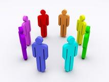 Colorful meeting Stock Photos