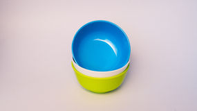 Colorful melamine bowl. Colorful melamine ware bowl Stock Photography