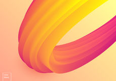 Colorful mellow vector wave vector illustration