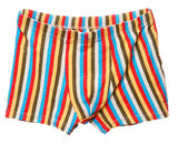 Colorful men's boxers Royalty Free Stock Image