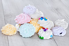Colorful Meringue Sweets Royalty Free Stock Photo
