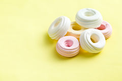 Colorful meringues Stock Image