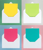 Colorful Messages Stock Photo