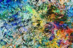 Colorful Textures Stock Image