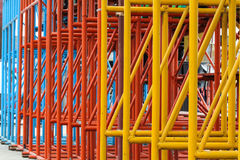 Colorful metal Stock Photography