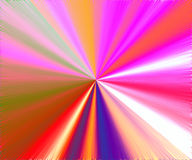 Colorful Metallic Abstract Stock Photo