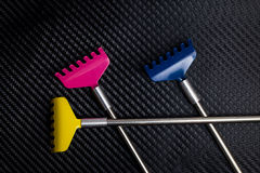 Colorful metallic back scratcher. Stock Photography