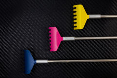 Colorful metallic back scratcher. Royalty Free Stock Photography