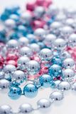Colorful metallic beads Stock Photos