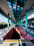 Irini Metro Station stock photo