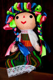 Colorful Mexican Doll Royalty Free Stock Image