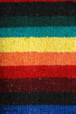 Colorful mexican fabric Royalty Free Stock Images