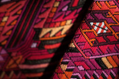 Colorful mexican fabric Stock Image
