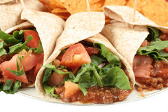 Colorful mexican food royalty free stock photography