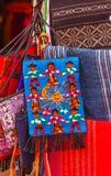 Colorful Mexican Peasant Blankets San Miguel de Allende Mexico Stock Photos