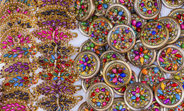 Colorful Mexican Souvenir Jewerly Guanajuato Mexico Royalty Free Stock Photography