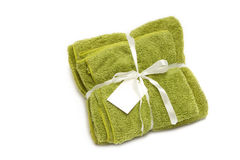 Colorful microfiber towels Royalty Free Stock Photos