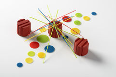 Colorful mikado perspex Royalty Free Stock Images