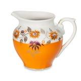 Colorful milk jug Royalty Free Stock Image