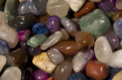 Colorful mineral rocks Royalty Free Stock Photo