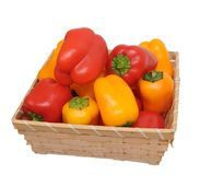 Colorful mini bell pepper Stock Photo