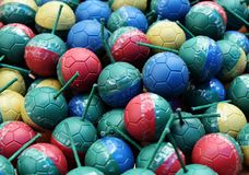 Colorful mini bomb ball Royalty Free Stock Photography
