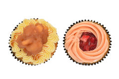 Colorful Mini Cup Cakes Stock Image
