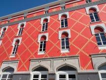 Colorful Ministry of Urban Development in Tirana Albania