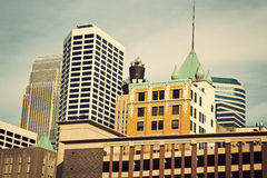 Colorful Minneapolis Royalty Free Stock Photography
