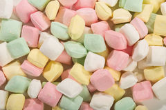 Colorful mint candy. Pile of colorful mint candy Stock Image