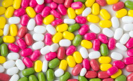 Colorful mints mix background pattern Royalty Free Stock Images