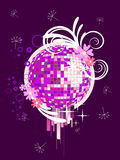 Colorful mirror ball Royalty Free Stock Image