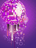 Colorful mirror ball Royalty Free Stock Photo