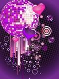 Colorful mirror ball Stock Photos