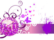 Colorful mirror ball Royalty Free Stock Images