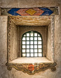Colorful mission window Royalty Free Stock Photo