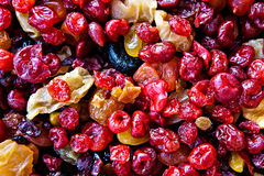 Colorful mix of dried fruits Royalty Free Stock Image
