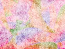 Colorful polygon background. Colorful mix pink violet green orange blue red polygon abstract vector background Stock Photos