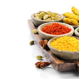 Colorful mix of spices Royalty Free Stock Image